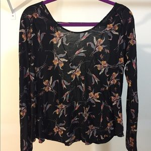Free people print blouse